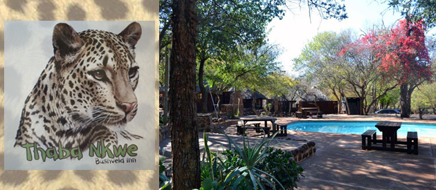 THABA'NKWE BUSH LODGE AND RESTAURANT